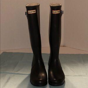 Hunter Original Tall Rain Boots Black